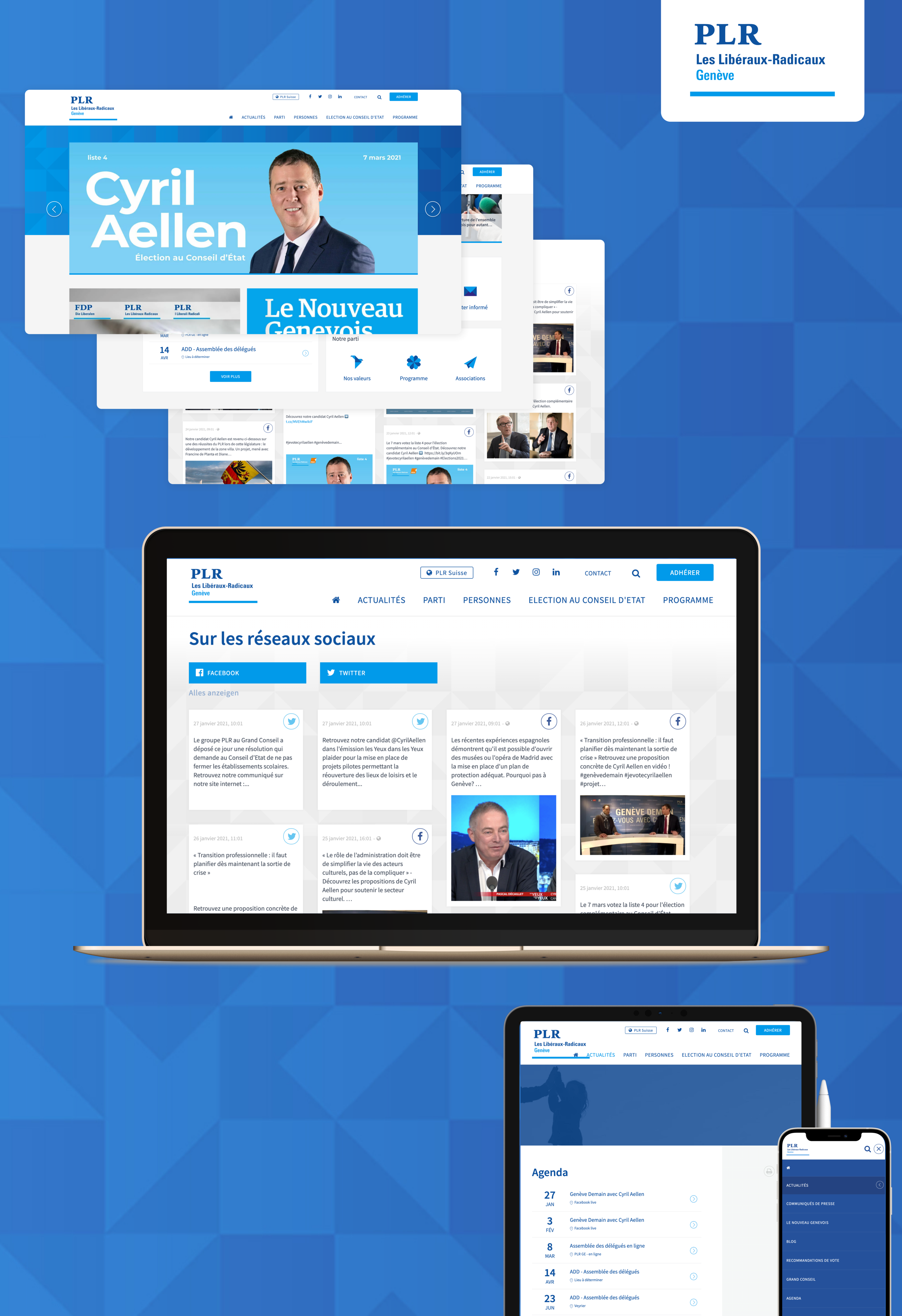 PLR Genève - WNG Agence Digitale