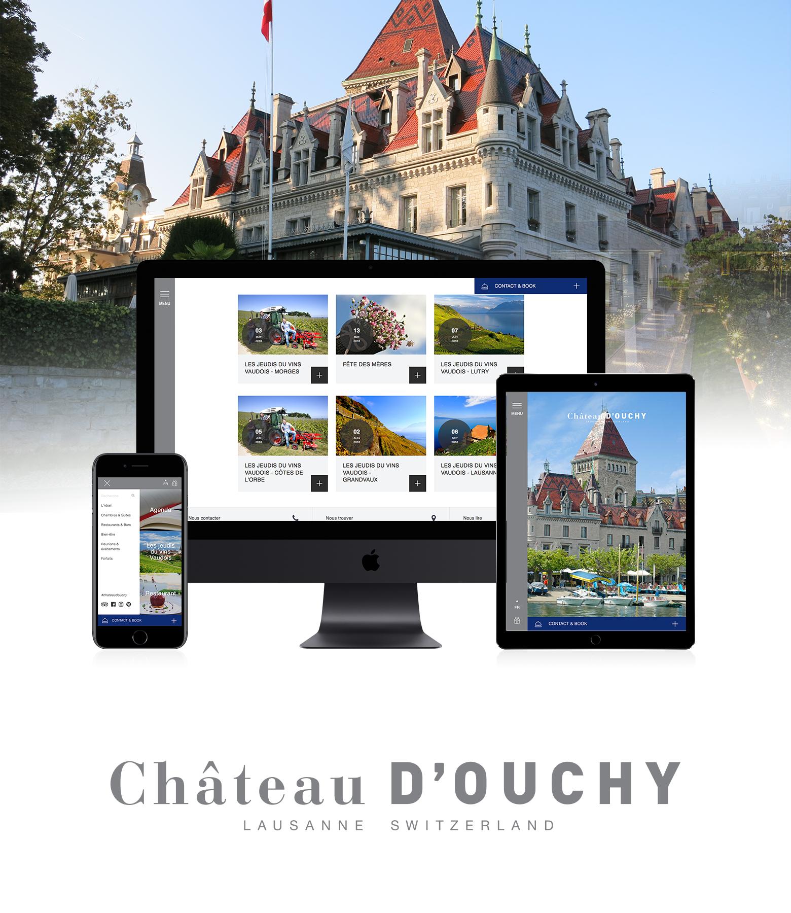 Château d'Ouchy WNG Agence Digitale