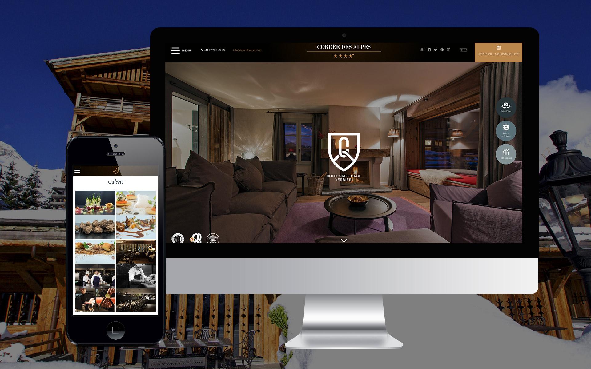 Hôtel La Cordée des Alpes WNG Agence digitale