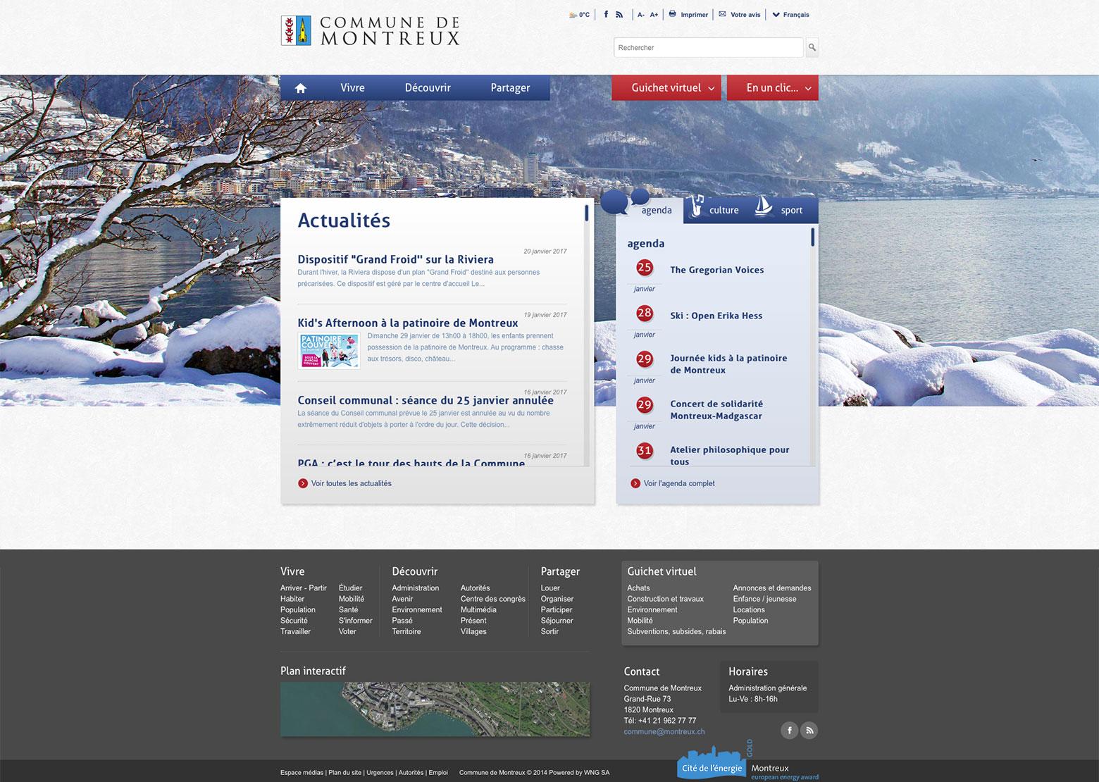 Commune de Montreux WNG Agence Digitale