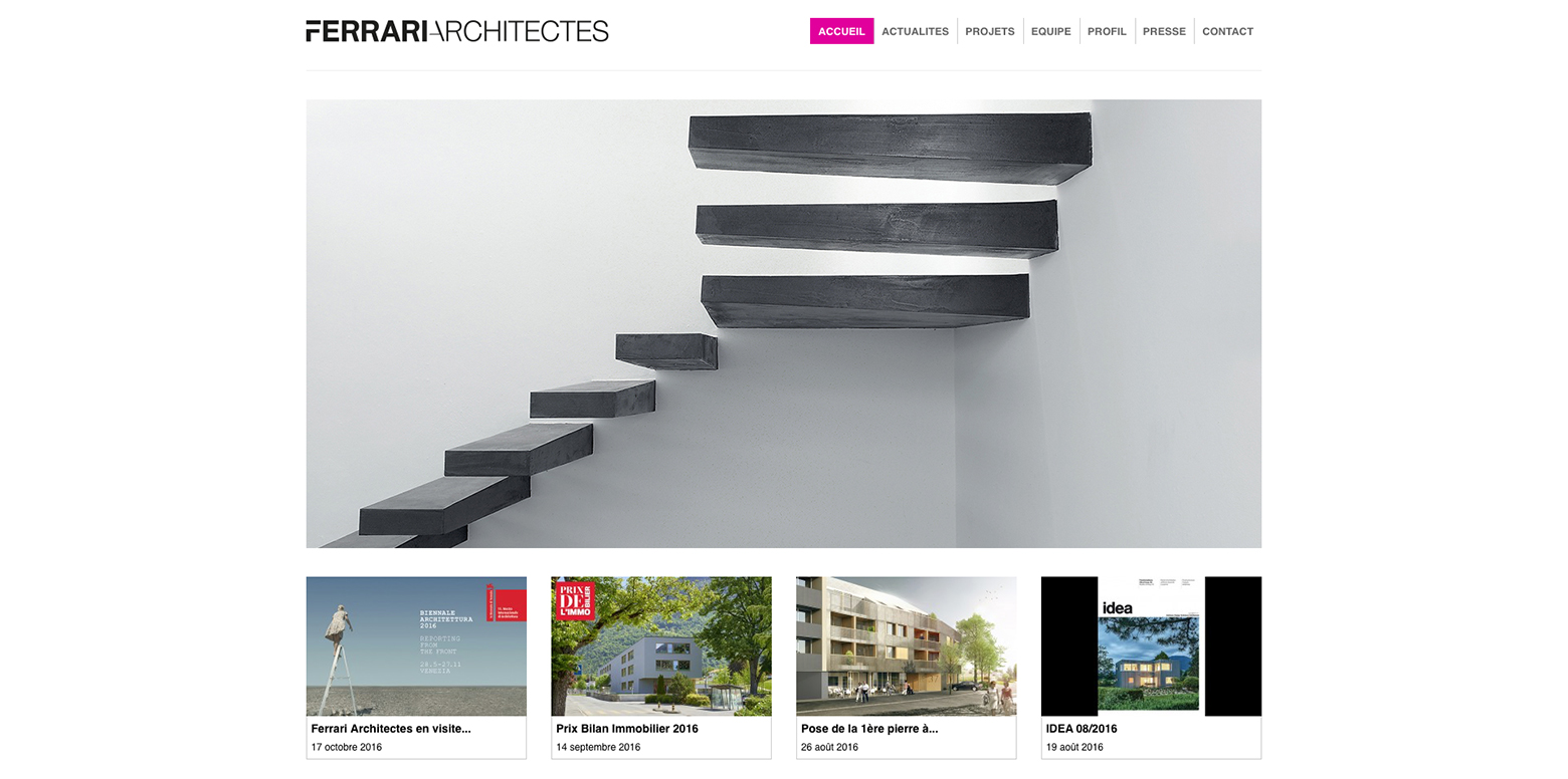 Ferrari Architectes WNG Agence Digitale