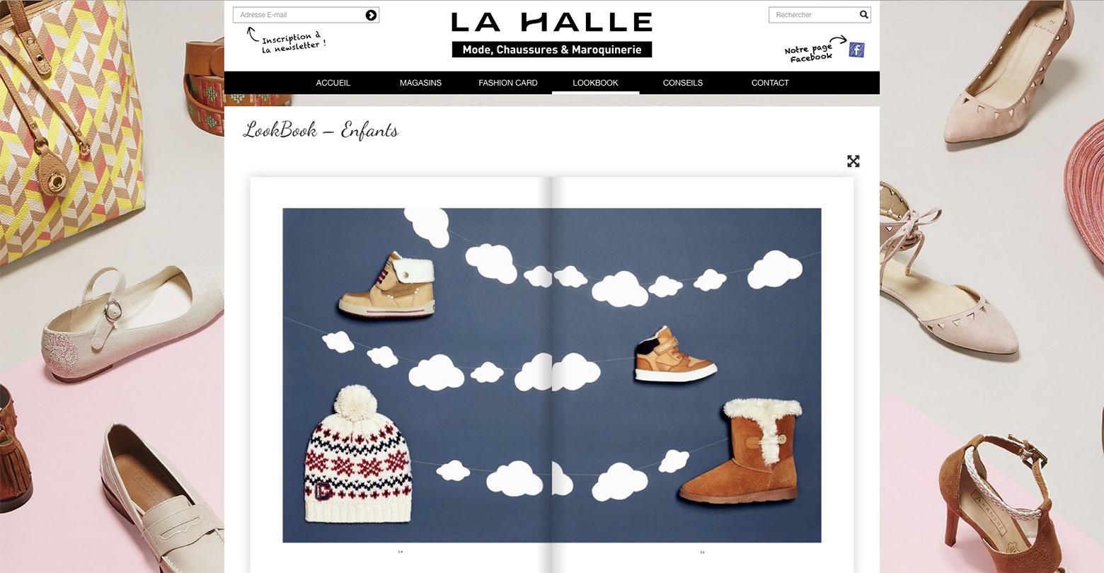 La Halle WNG Agence Digitale