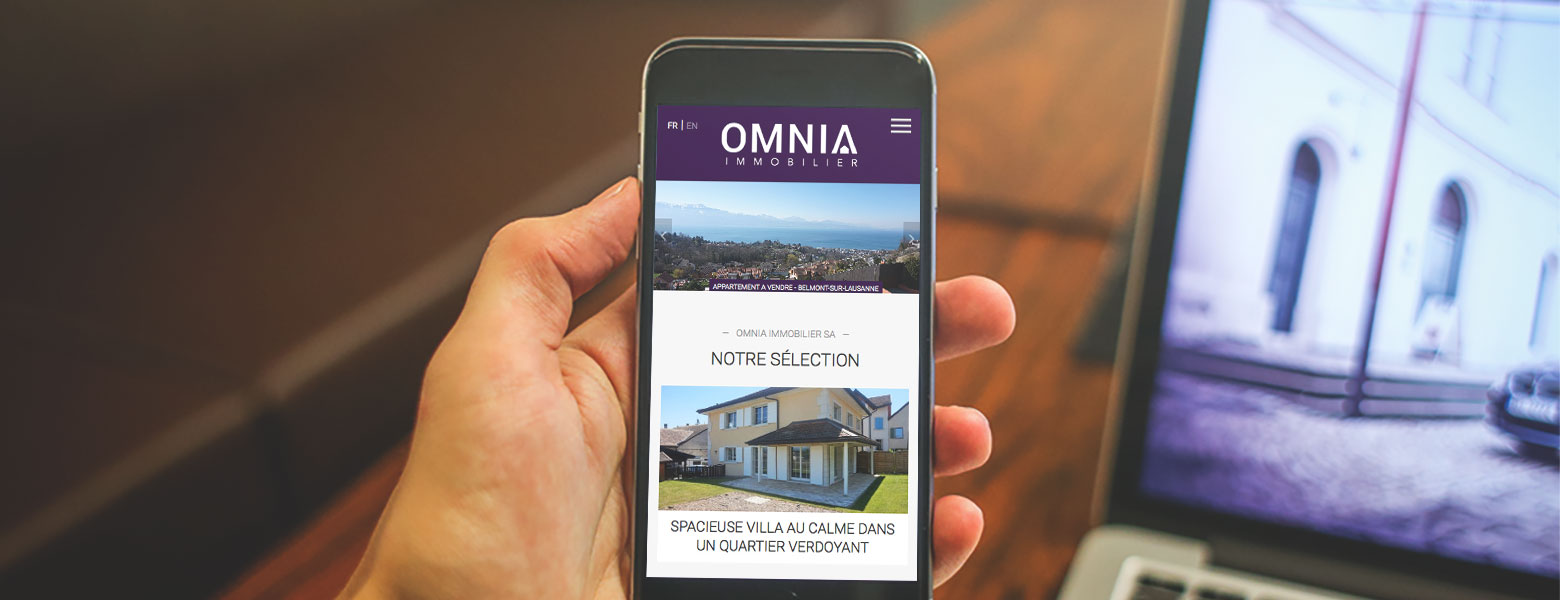 [Translate to English:] Omnia Immobilier WNG Agence Digitale