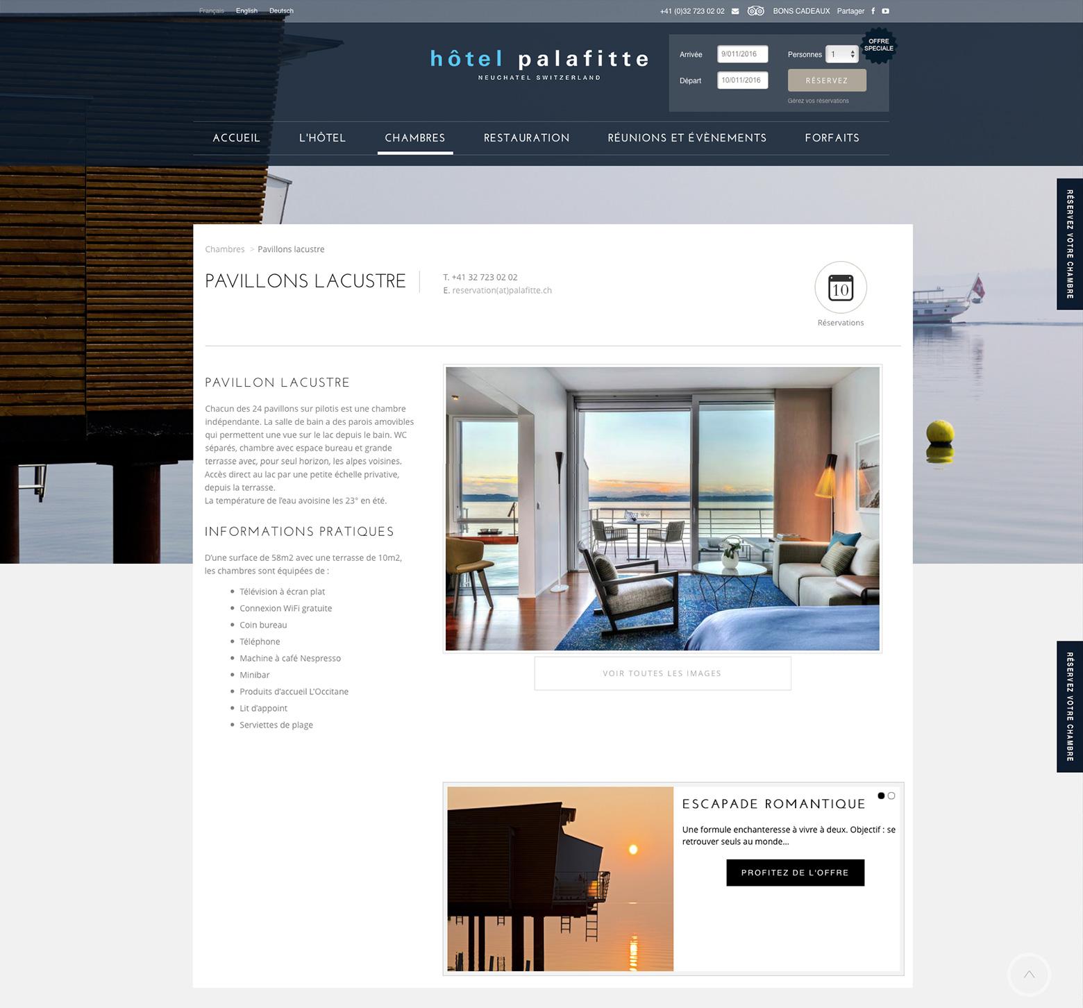 Hôtel Palafitte WNG Agence Digitale