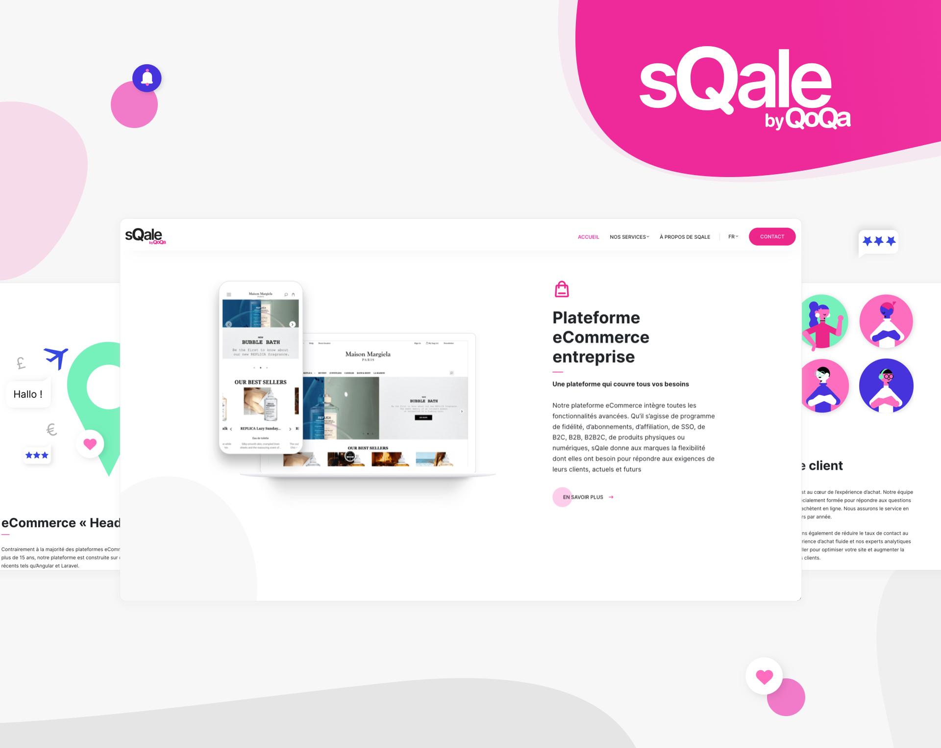 sQale by Qoqa - WNG Agence Digitale
