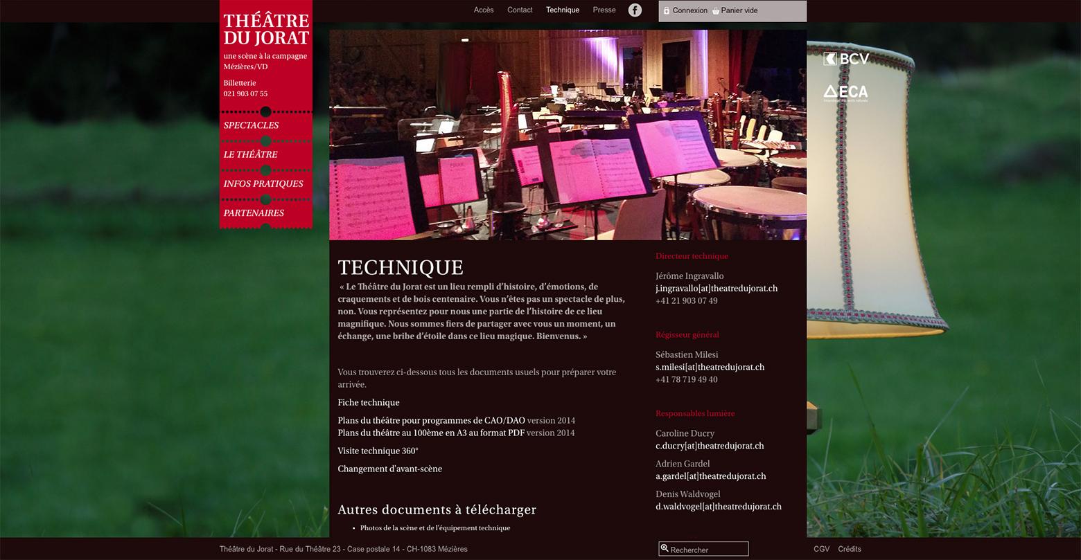 Théâtre du Jorat WNG Agence Digitale