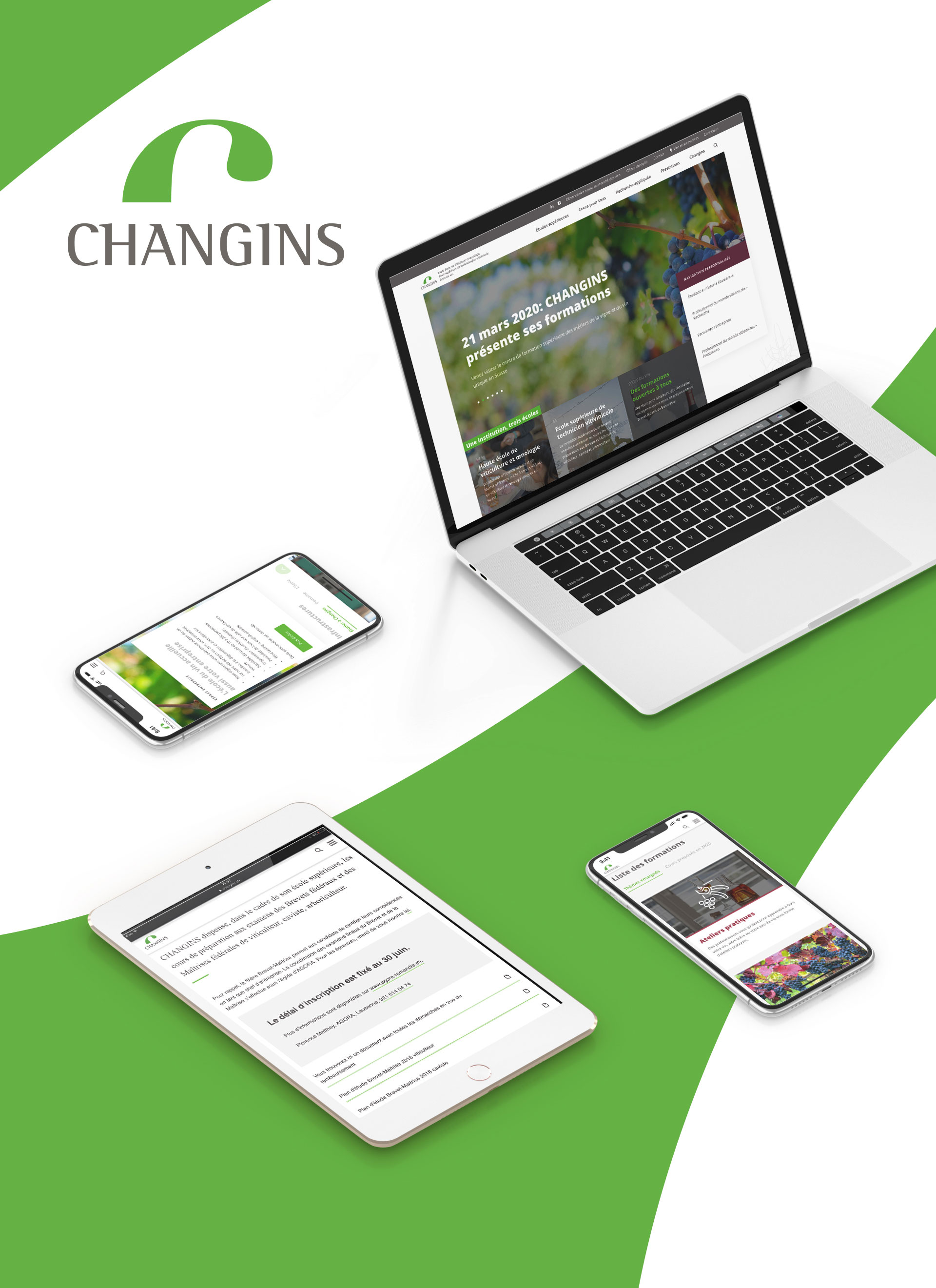 CHANGINS - WNG Agence Digitale