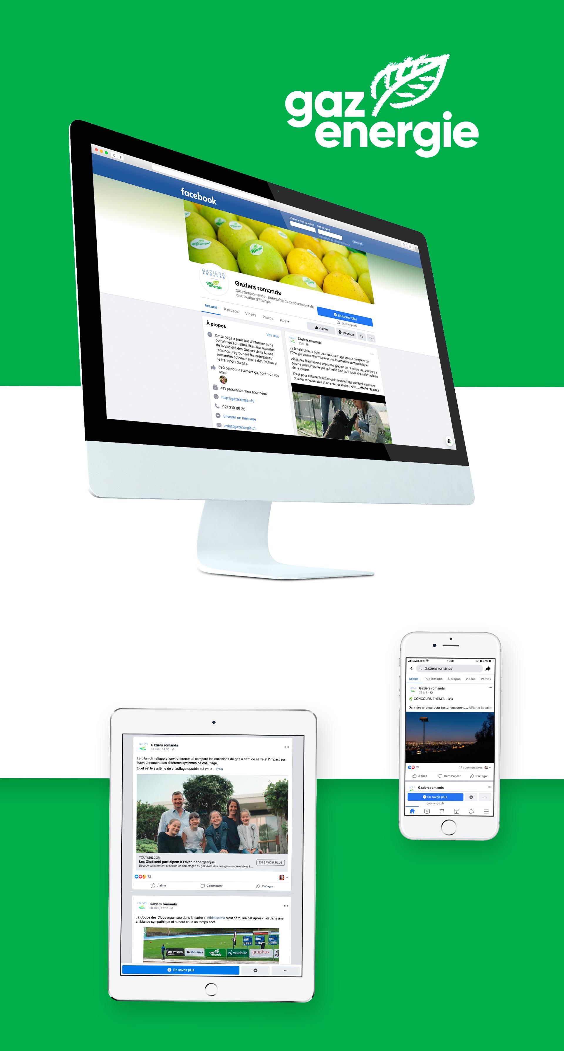 Gaziers Romands - WNG Agence Digitale