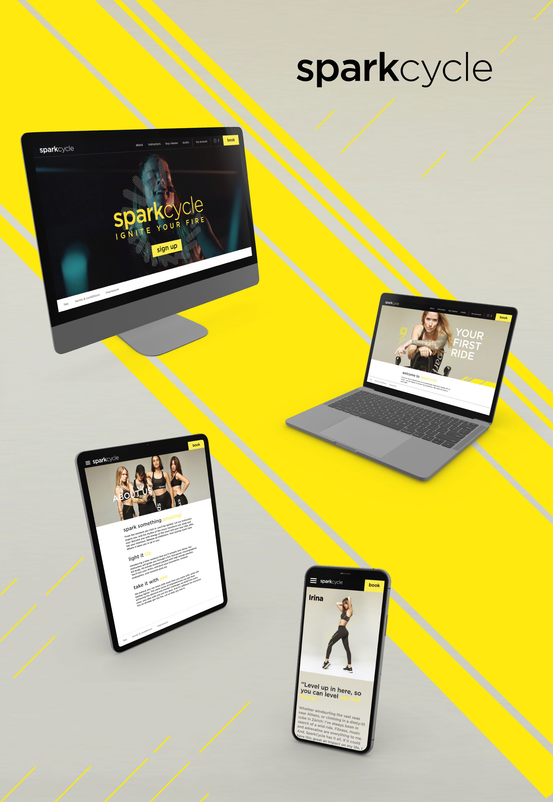SparkCycle - WNG Agence Digitale