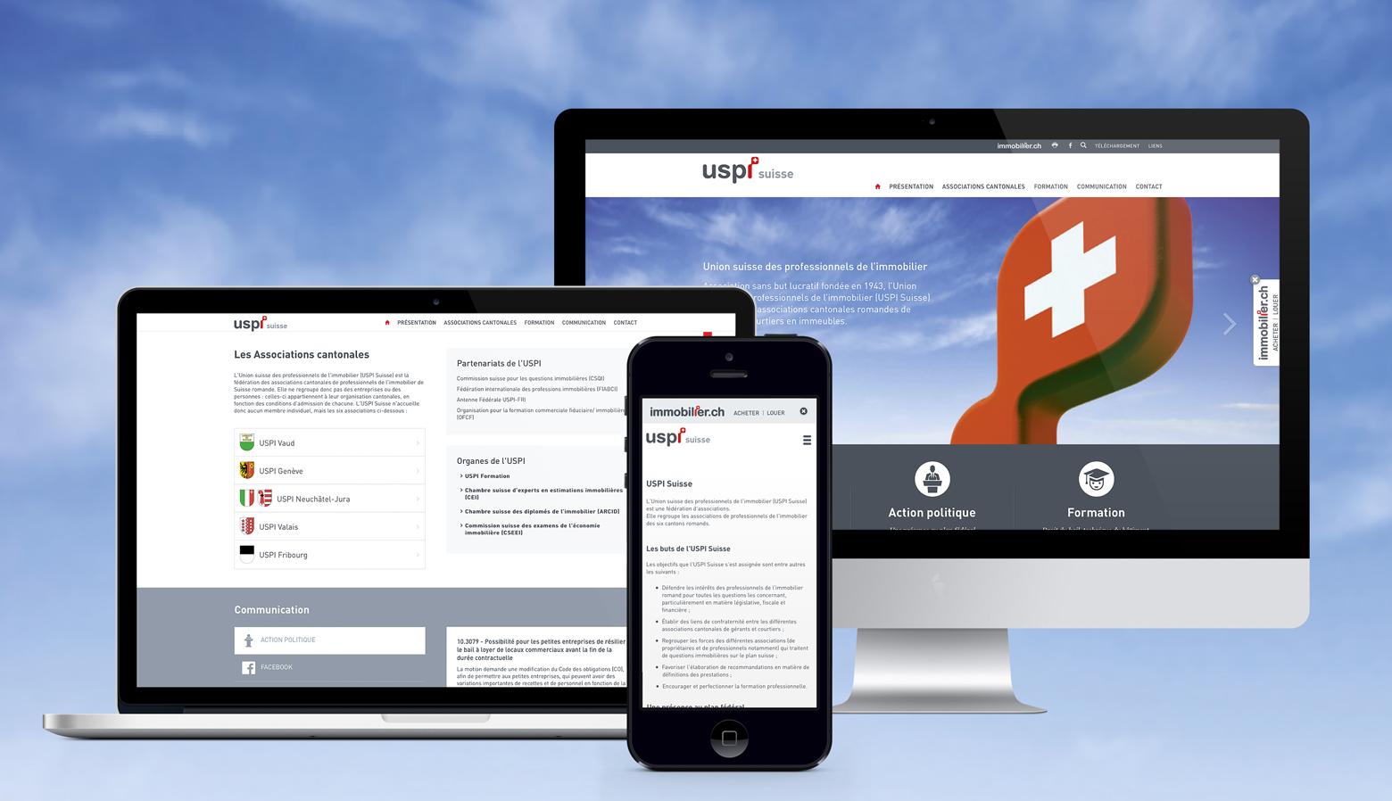 [Translate to English:] USPI Suisse WNG Agence Digitale